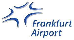 Roboterkopf als Auskunftservice auf Frankfurter Flughafen
