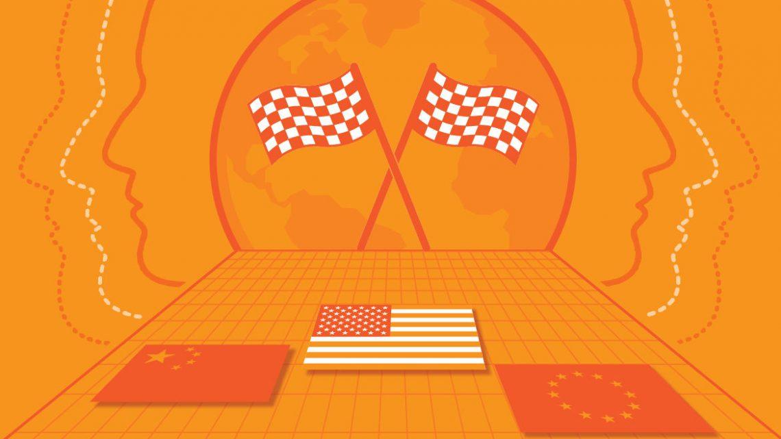 Welche Nation gewinnt das Rennen in der KI?