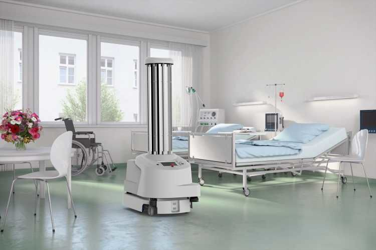 Robots as partners in the fight against the coronary virus