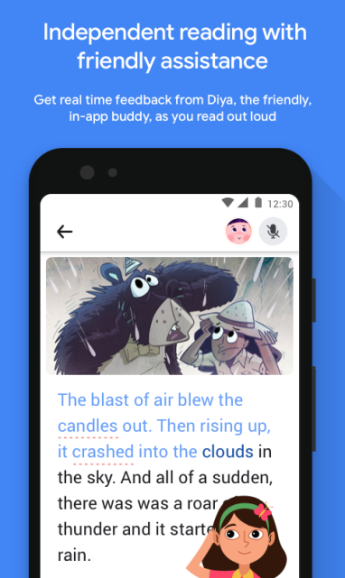 """Google launches """"Read Along"""", a free app that helps young children read"""