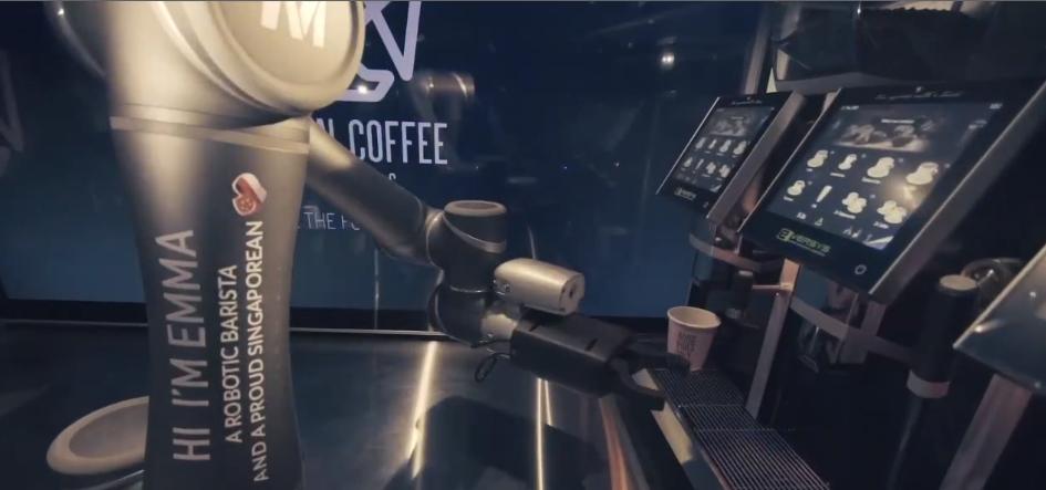 Auch das noch: ein robotergesteuerter Kaffeebarista