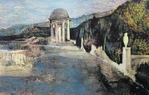 Neo – Master – Komposition unter einem Picasso- Gemälde wieder hergestellt