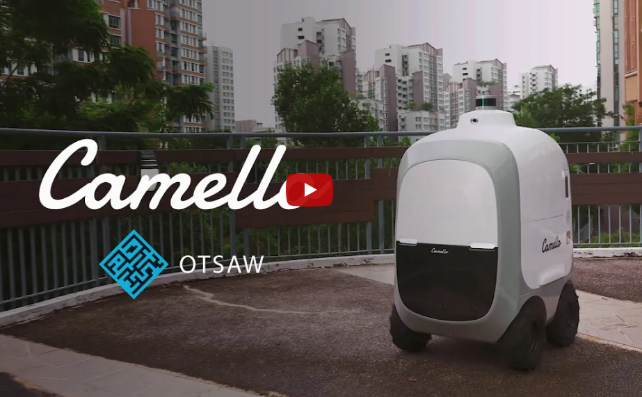 Out of milk? Robots are on call for home deliveries