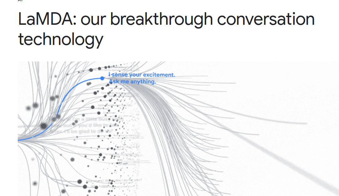Google on the path to 'breakthrough conversational technology'