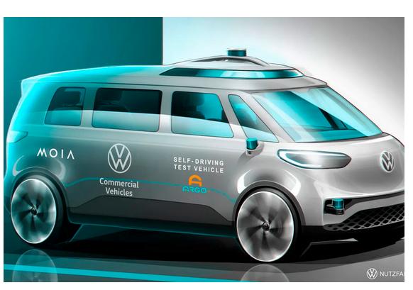 VW announces test of Argo AI minibus