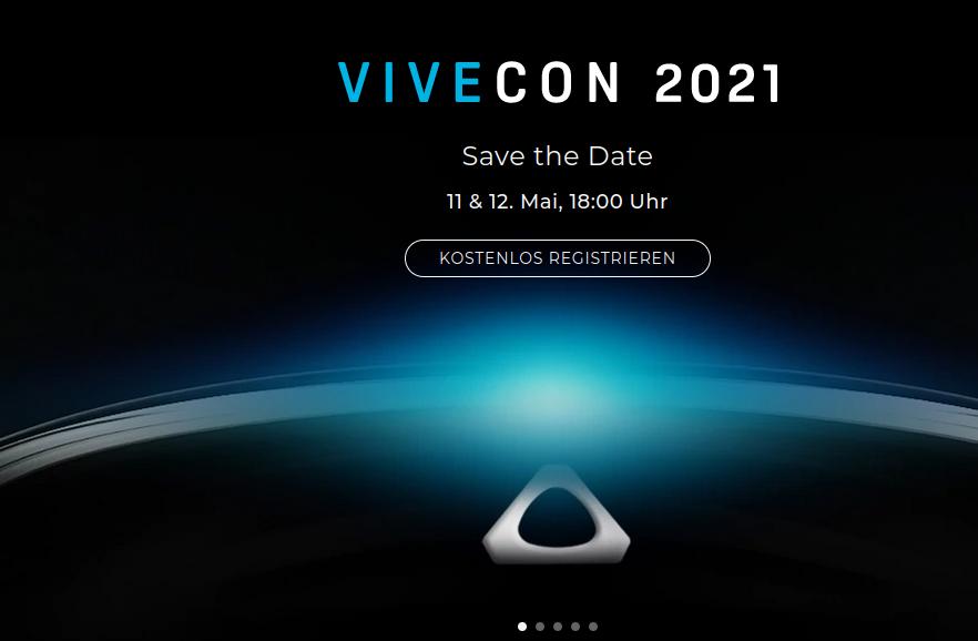 HTC wird auf Vivecon neue Headsets präsentieren