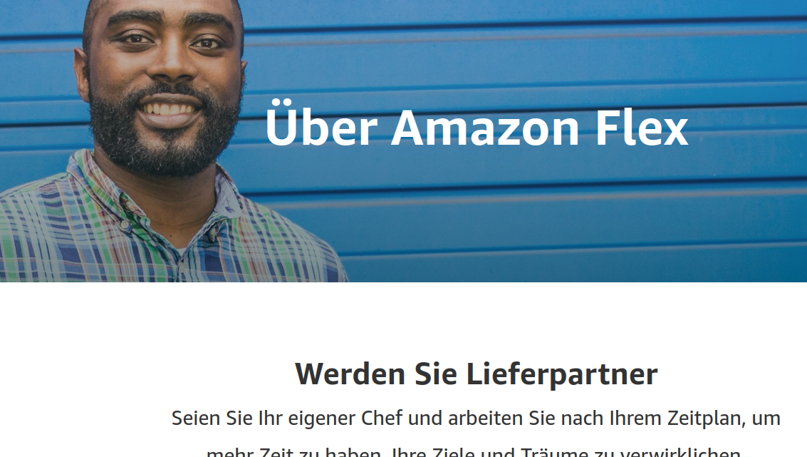 Amazon: Flex delivery drivers' being and not being determined by algorithms