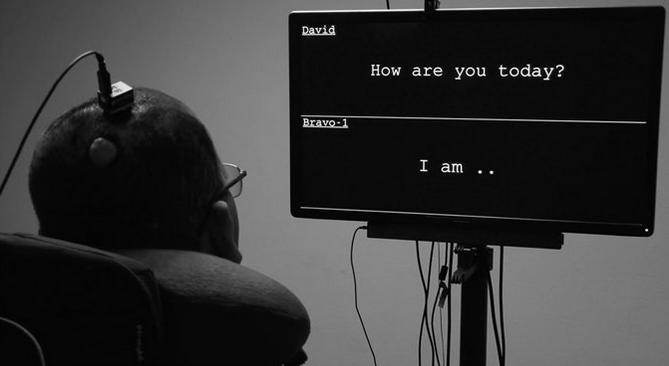Gelingt das: Hirnströme eines gelähmten Mannes in Sprache umwandeln?