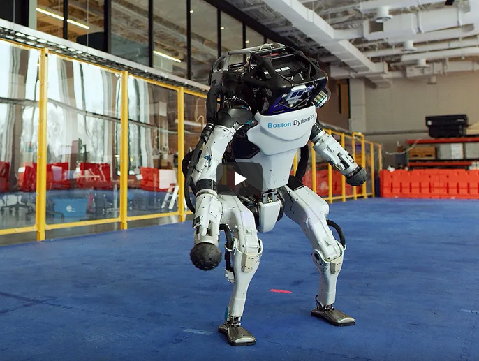 The Atlas robot surprises with new capabilities