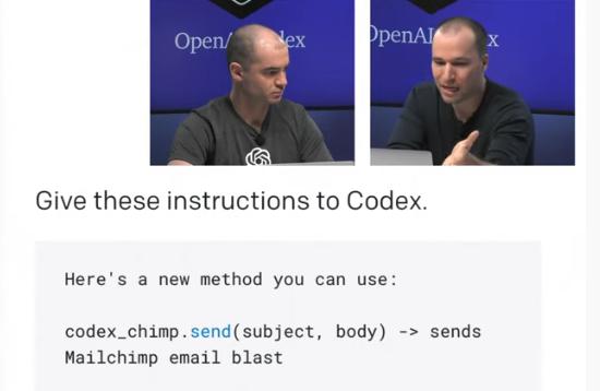 OpenAi – Tool Codex übersetzt natürliche Sprache in Code