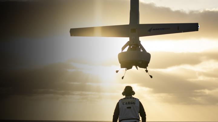 Shield – AI takes over Martin UAV