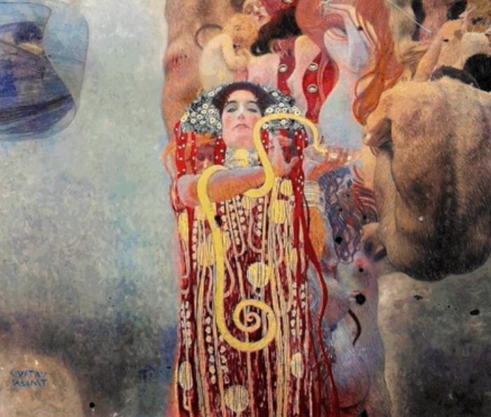 Google uses AI to color Klimt paintings